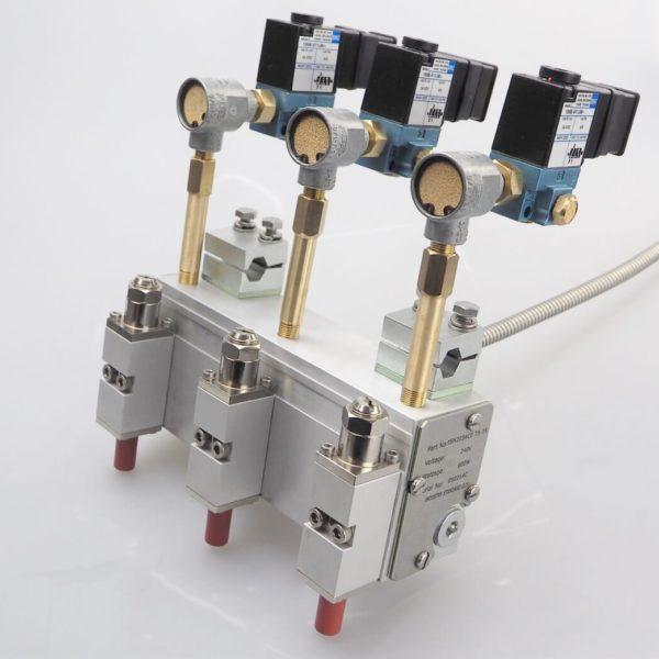 Three Module Hot Melt Glue Gun